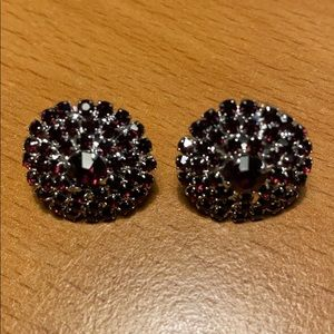 Jewelry - New Gorgeous Purple Stud Earrings
